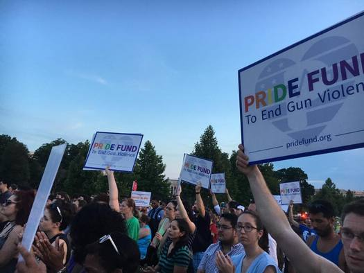 Florida's LGBTQ community is joining the fight for gun reform. (J. Lindsay/Pride Fund)
