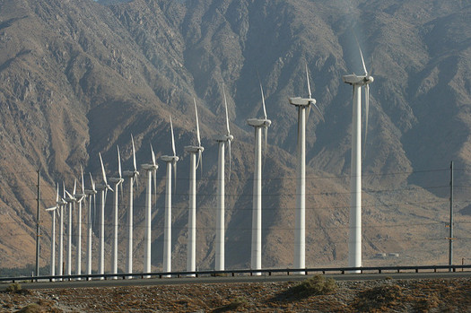 Wind-power generation in Montana has more than doubled over the past five years. (Quinn Dombrowski/Flickr)