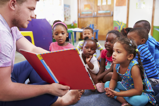 Starting today, Minnesota is providing more money for free training for child care professionals, which supporters say could help close educational achievement gaps for children of color. (iStockphoto)
