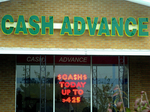 Cash Advance ranked in the top 10 for complaints on payday lending made to the Consumer Financial Protection Bureau. (Frankieleon/Flickr)