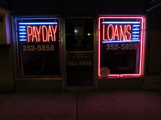 The Public Interest Research Group Education Fund analyzed nearly 10,000 complaints about payday loans. (Paul Sableman/Flickr)