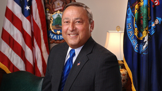 Gov. Paul LePage has until the end of the day today to comply with a request under Maine's Freedom of Access Act to reveal the contents of a binder he says he maintains containing mugshots of drug dealers. (Office of Gov. LePage)