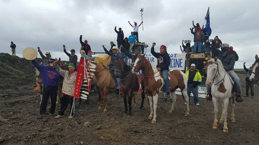 Native Americans have been protesting the Dakota Access Pipeline since April. (Red Warrior Camp)