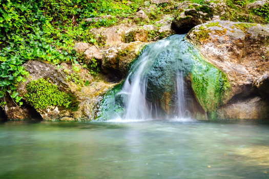 Participants at the first Arkansas Environmental Policy Summit will discuss managing and preserving the state's natural resources, such as Hot Springs National Park. (zrfphoto/iStockphoto)