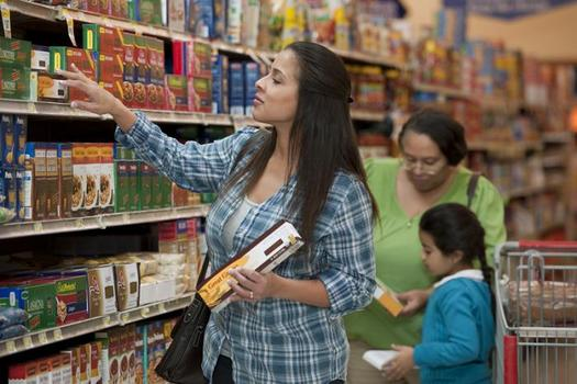 A new USDA report says 1 in 6 Texas families struggles with food insecurity at some point during the year. (USDA photo)