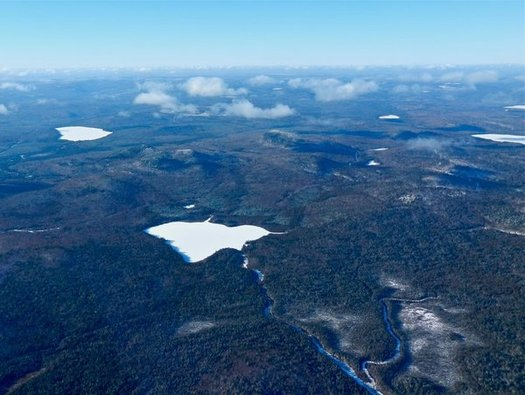 Conservation advocates say today's Bureau of Environmental Protection hearing on mining affects a lot more areas than just Bald Mountain. (Judy Berk/NRCM)