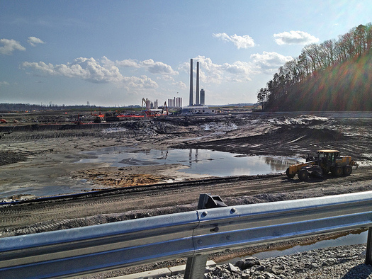 One view of the damage from the 2008 coal-ash disaster at the Kingston Fossil Plant. (Appalachian Voices/Flickr)