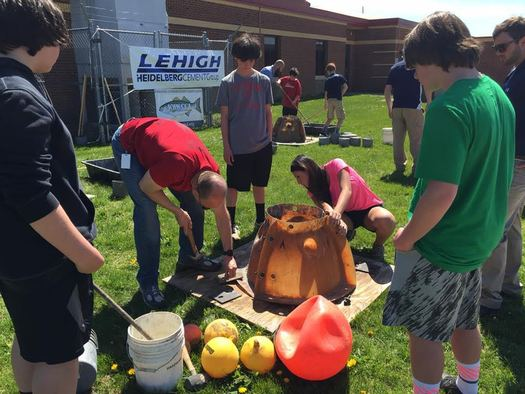 Students from schools across Maryland are playing a role in helping restore the oyster habitat in Chesapeake Bay. (CCA)