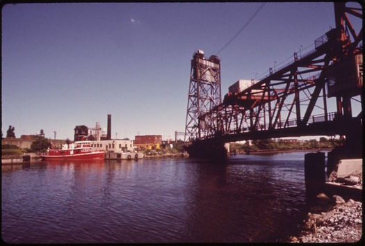 Restoration of the Buffalo River has been central to the economic revitalization of Buffalo, New York. (George Burns/Wikimedia Commons)