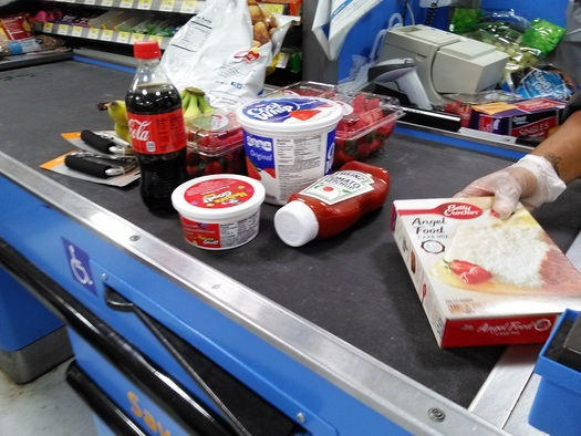 A trip to the grocery Saturday in Kentucky can help others - those who depend on the state's domestic-violence shelters. (Greg Stotelmyer)