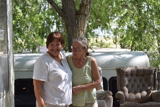 Advocates say some long-term relationships between caregivers and home-bound residents are threatened because of the state's effort to cut overtime hours. (Virginia Carter)
