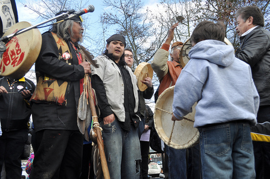 Seattle, Spokane and Olympia have joined the ranks of cities that celebrate Indigenous Peoples' Day instead of Columbus Day. (Joe Mabel/flickr)