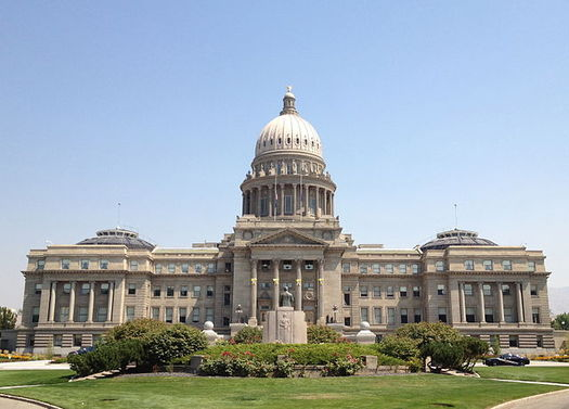 Idaho legislators hold their second work-group meeting on religious exemption laws and faith healing Oct. 10 at the State Capitol. (JSquish/Wikimedia Commons)