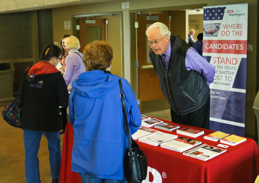 AARP Washington is sponsoring the U.S. Senate candidates' debate this Sunday at Gonzaga University. (AARP Washington)