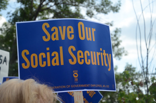 Without action, Social Security could be cut by almost 25 percent in 2034. (AFGE/flickr.com)