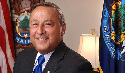 "Maine Gov. Paul LePage is drawing fire for his comments calling for GOP presidential nominee Donald Trump to show the country ""authoritarian power."" (Office of Gov. LePage)"