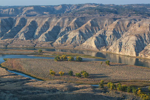 The Upper Missouri River Break National Monument in central Montana is Bureau of Land Management-administered public land. (Bob Wick/BLM)