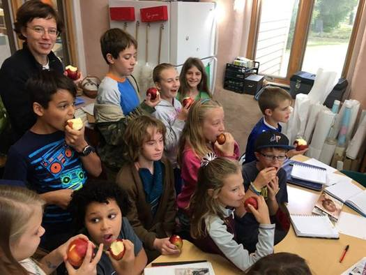 Experts say when kids know where their food comes from, they are more likely to become better educated as consumers. (CFRA)