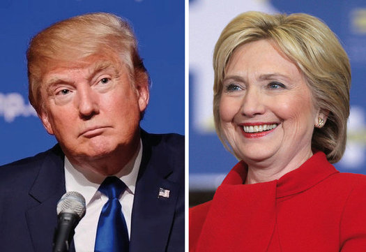 A new report says the rhetoric of the presidential campaign is causing stress and even an increase in bullying among the nation's students. (Wikimedia Commons)