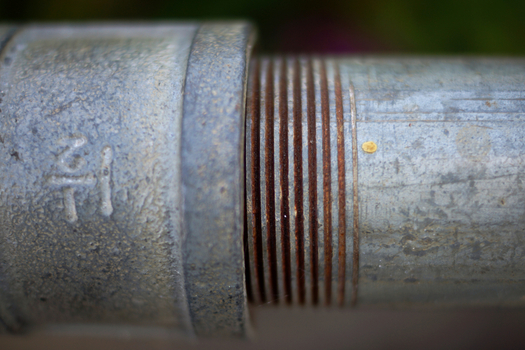 Wisconsin still has 176,000 lead pipes carrying water into homes, which is one reason for the state's higher percentage of children with high blood lead levels. (Giambra/iStockPhoto)
