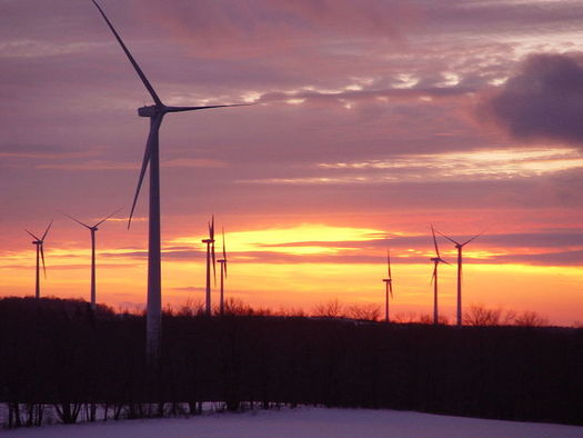 Achieving 50-percent renewable energy requires integrating smaller sources into the state power system. (Windtech at English Wikipedia)