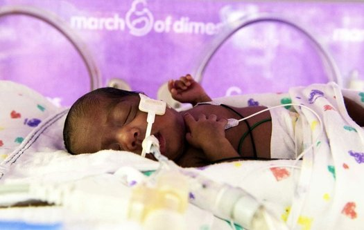 This year's Premature Birth Report Card shows that for the first time in eight years, the U.S. preterm birth rate has increased. (March of Dimes)