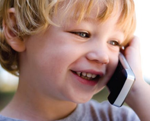 Parents are advised to limit the time children spend on cellphones because radiation could affect a developing brain. (nih.gov)