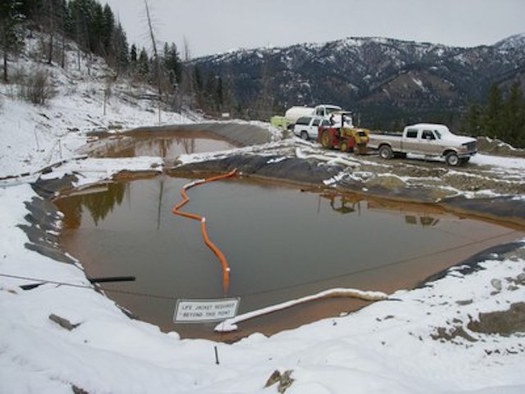 Conservation groups have reopened a lawsuit against Atlanta Gold over discharges of arsenic into Boise River headwaters. (John Robison/Idaho Conservation League)