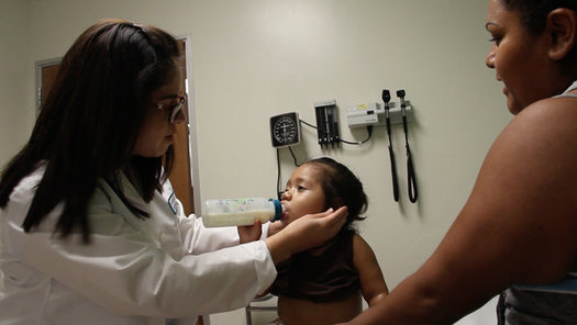 California cut its number of uninsured children by 55 percent from 2013 to 2015. (Carolina Quezada/NACHC)