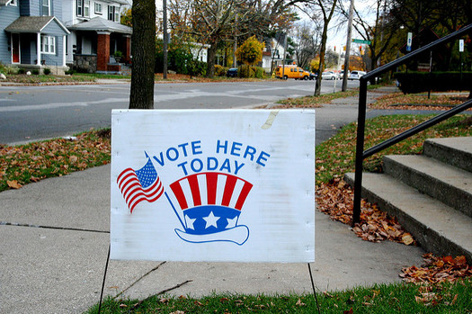 Millennials make up about one-third of Americans eligible to vote. (Steven Depolo/Flickr)