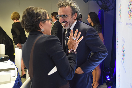 Chobani CEO Hamdi Ulukaya has given employees at his company, including 1,000 in Twin Falls, access to paid family leave starting in 2017. (U.S. Dept. of Commerce)