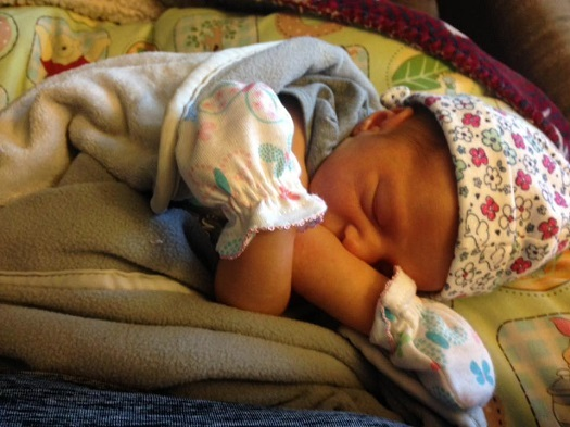 Infants should only sleep on their backs, and in cribs without blankets, toys or bed rails, experts say. (V.Black)