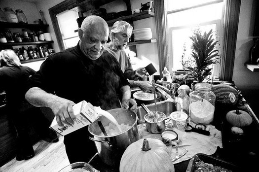 Thanksgiving is an important time to remember that some older Americans aren't sure where their next meal is coming from. About 15 percent of Oregonians over age 50 are food insecure. (Mark Surman/Flickr)
