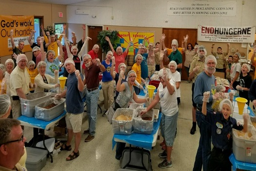 """New Englanders who work to fight hunger are voicing concerns that President-elect Donald Trump's """"divisive approach"""" could derail some of their efforts. (The Outreach Program)"""