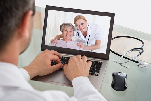 Colorado doctors are bringing old school home visits into the digital age through telehealth. (AndreyPopov/iStockphoto)