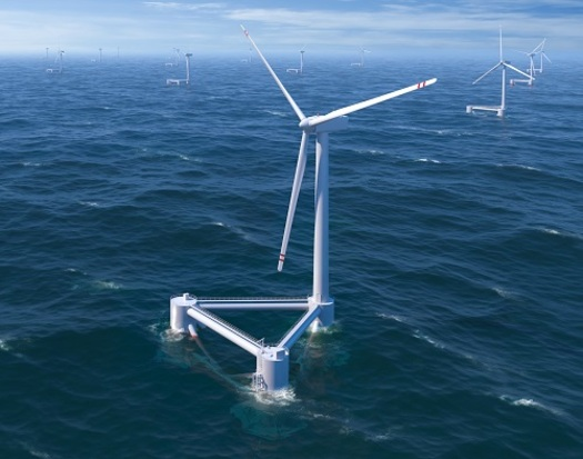 Maryland may jump into the lead among states developing offshore wind energy. (boem.gov)