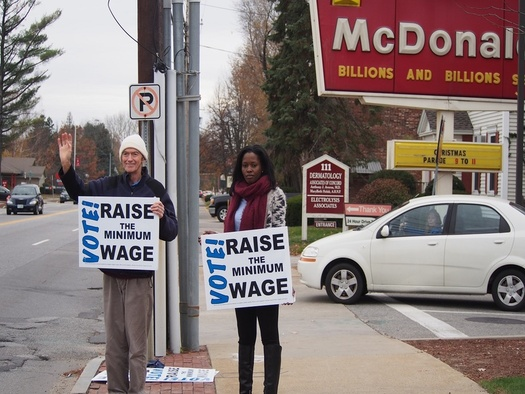 Low-wage workers in a variety of occupations across the country plan to strike today. The Granite State had a jump on this wage action. (Fight-For-15).