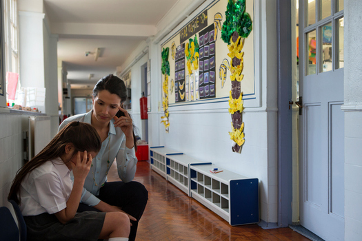 Student anxiety and incidents of harassment have increased since the 2016 presidential election, according to a survey of school personnel. (iStockphoto)