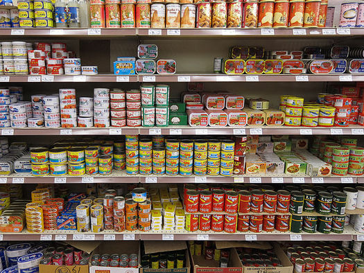 Food collected during the holidays is critical for keeping pantry shelves stocked for families facing hunger through the winter months ahead. (Pixabay)