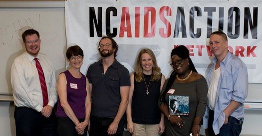 Employees of the North Carolina AIDS Action Network are pushing for the state to increase funding for diagnosis and treatment of sexually-transmitted diseases. (NCAAN)