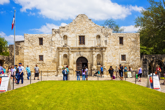 "A new report finds that major Texas travel and entertainment destinations, such as the Alamo in San Antonio, could lose billions of dollars if the state passes an anti-LGBT ""bathroom bill.""  (iStockphoto)"
