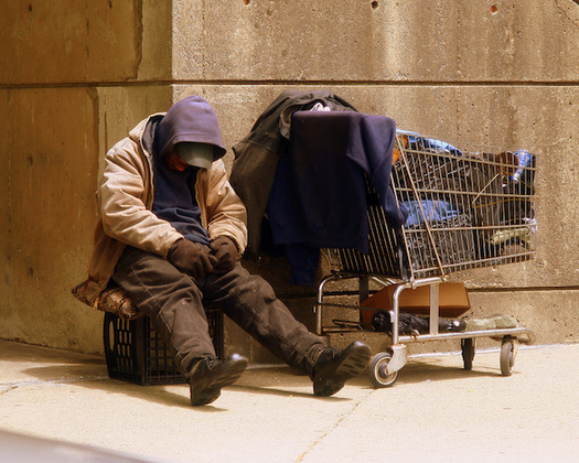 The 2016 census showed a 20 percent decline in the chronically homeless in Connecticut. (Matthew Woitunski/Wikimedia Commons)