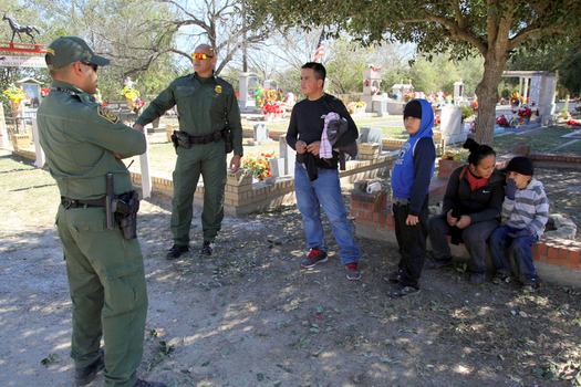 A report criticizes the U.S. Border Patrol for often driving migrants into remote areas along the U.S.-Mexico border, where many of them get lost or die. (vichinterlang/iStockphoto)
