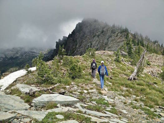 One of Idaho's U.S. Senators has introduced a bill to create a Scotchman Peaks Wilderness Area. (Steve Weisse/Friends of Scotchman Peaks Wilderness)
