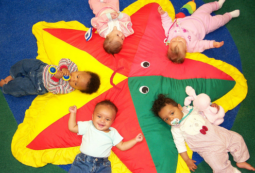 A new report finds center-based child care is more costly than college tuition in Idaho. (U.S. Army/Flickr)