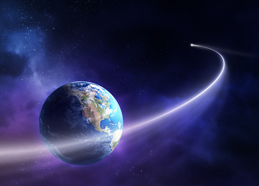 "In 2011, some feared ""doomsday"" Comet Elenin would hit Earth, but only remnants passed by our planet. (Chloe Yelland)"