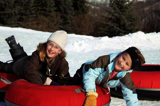 Experts say quality family time during winter break is important to children. (gfpeck/Flickr)