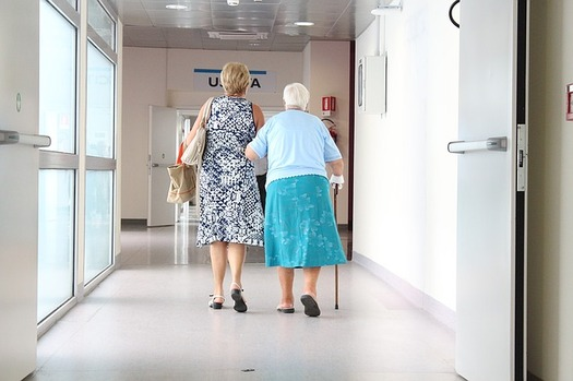 Nearly a half-million family caregivers provide 437 million hours of care each year for loved ones in Oregon, according to a new report. (sarcifilippo/Pixabay)