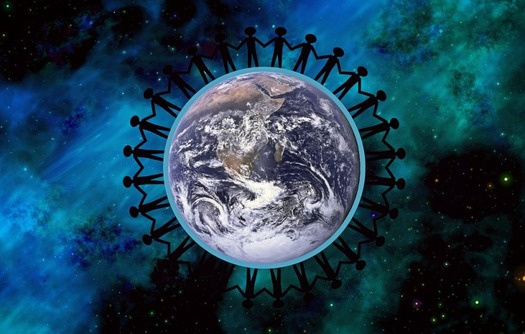 Those who struggle to find peace during divided times can find community with others.(Pixabay)