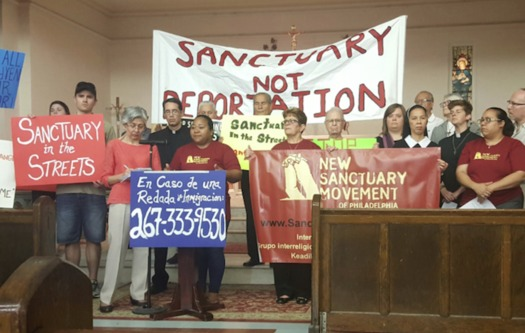"More than 1,000 people have volunteered for the ""Sanctuary in the Streets"" program. (Harvey Finkle)"